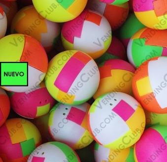 CLAVE 436 <br><strong>PELOTA ARMABLE 45MM PUZZLE BALLS </strong><br>50 PIEZAS