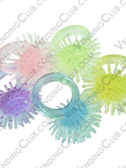 CLAVE 101 <br><strong>FUZZY RINGS </strong><br>100 PIEZAS