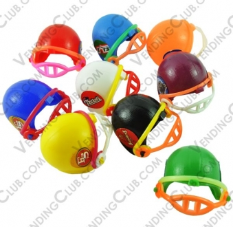 CLAVE 107 <br><strong>MINI CASCO NFL </strong><br>100 PIEZAS