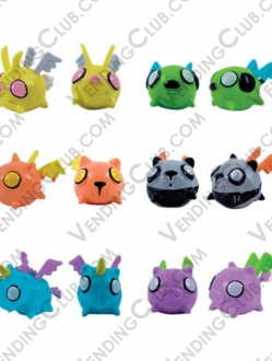 CLAVE 217 <br><strong>FLYING CRITTER BOOS FIGURES </strong><br>100 PIEZAS