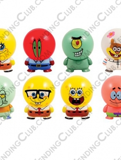 CLAVE 36 <br><strong>SPONGEBOB CAPSULE BUILDABLE </strong><br>50 PIEZAS