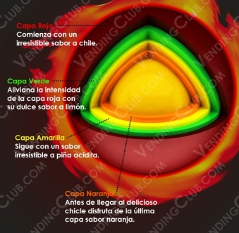 CLAVE 361 <br><strong>FIRE BALL </strong><br>100 PIEZAS