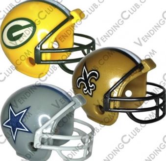 CLAVE 396 <br><strong>NFL HELMETS </strong><br>32 PIEZAS