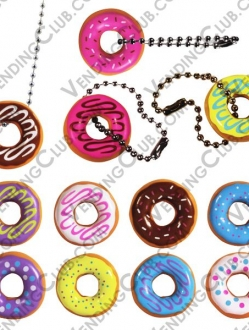 CLAVE 399 <br><strong>DONUT KEYCHAINS </strong><br>100 PIEZAS