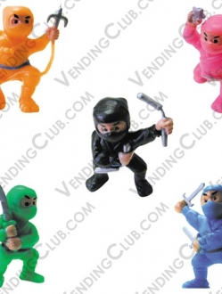 CLAVE 516 <br><strong>NINJA FIGHTERS </strong><br>100 PIEZAS