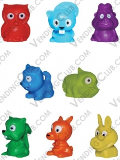 CLAVE 519 <br><strong>MINI-MALZ FIGURINES </strong><br>100 PIEZAS