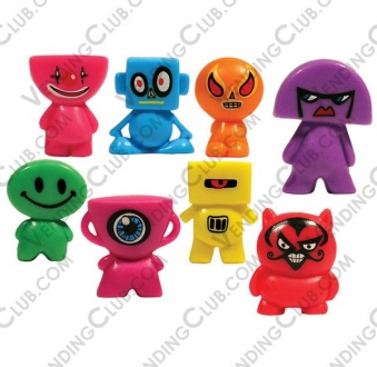 CLAVE 521 <br><strong>BLOCKHEADZ FIGURINES </strong><br>100 PIEZAS
