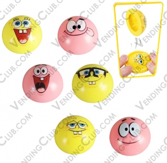 CLAVE 526 <br><strong>SPONGEBOB POPPERS </strong><br>100 PIEZAS