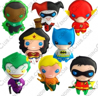 CLAVE 615 <br><strong>DC COMICS POCKET PALS </strong><br>100 PIEZAS