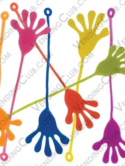CLAVE 63 <br><strong>LARGE STICKY HANDS </strong><br>100 PIEZAS
