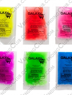 CLAVE 64 <br><strong>GALAXY GOO PACKETS </strong><br>100 PIEZAS