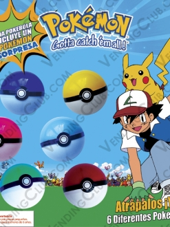 CLAVE 428 <br><strong>POKEBALL </strong><br>50 PIEZAS