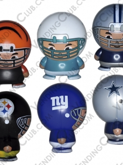 CLAVE 395 <br><strong>NFL CAPSULE BUILDABLE </strong><br>50 PIEZAS