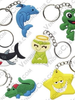 CLAVE 422 <br><strong>FANTASY KEYCHAINS </strong><br>100 PIEZAS
