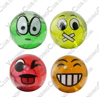 CLAVE 757 <br><strong>CAPSULA EMOJIS CON SLIME (SELFVEND) </strong><br>50 PIEZAS