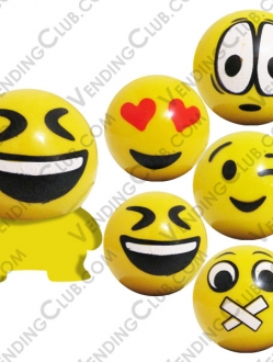 CLAVE 755 <br><strong>EMOJIS CAPSULE BUILDABLE  </strong><br>50 PIEZAS