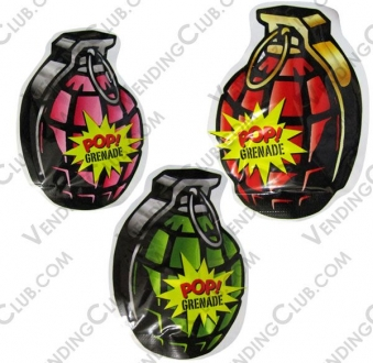 CLAVE 808 <br><strong>BOMBA GRANADA AUTOINFLABLE </strong><br> 100 PIEZAS