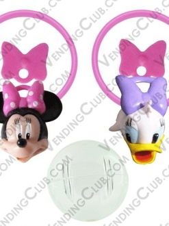 CLAVE 815 <br><strong>MINNIE & DAYSI RINGS ENCAPSULADO 1.4 «$10 </strong><br>100 PIEZAS