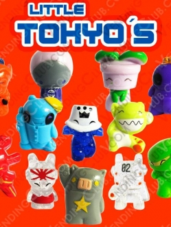 CLAVE 889 <br><strong>LITTLE TOKYOS FIGURINES </strong><br>100 PIEZAS