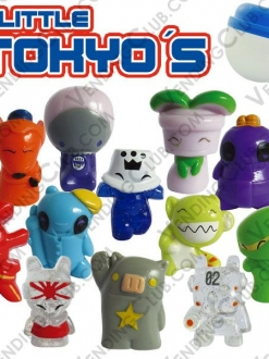 CLAVE 892<br><strong>LITTLE TOKYOS FIGURINES $10 ENCAPSULADO</strong><br>100 PIEZAS